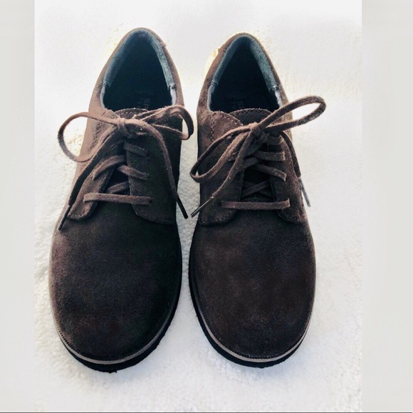 Sperry Other - Sperry Topsiders Boys Brown Suede Oxfords